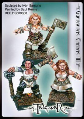 Dwarf Women Warriors III (3)