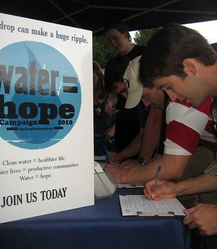 Joining Water = Hope