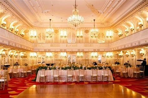 Blackstone hotel, Crystal Ballroom, weddings   The