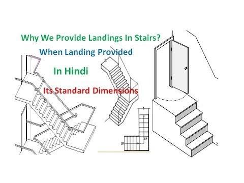 Why We Provide Landings In Stairs