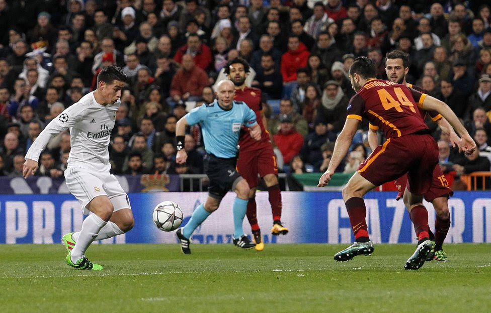 Real Madrid-Roma en imágenes