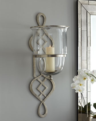 Limestone Candle Sconce - Horchow