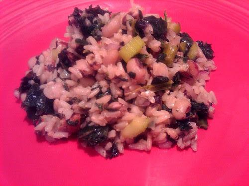 Brown Rice Salad with Black-Eyed Peas