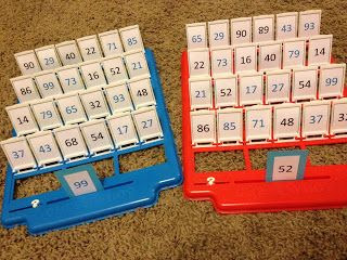 Guess that number game! This would be a fun way review odd/even or greater than/less than!