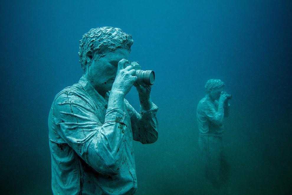 Первый в Европе подводный музей Atlantico