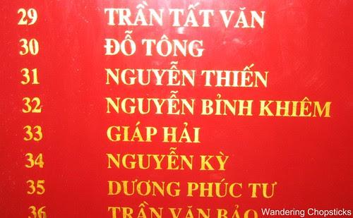 Van Mieu (Temple of Literature) - Hanoi - Vietnam 18