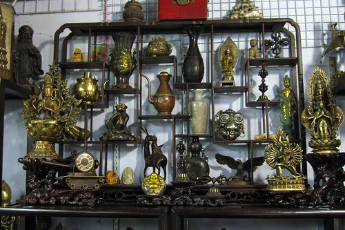 Antiques store, Kanding