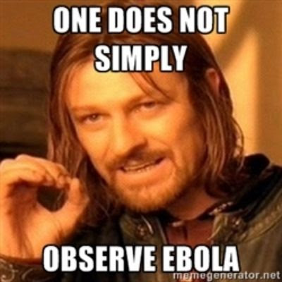 One does not simply observe Ebola humor meme photo