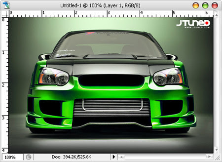 Photoshop Tutorial: How To Paint A Car