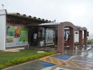 Aeroporto de Vitória da Conquista (Foto: Anderson Oliveira / Blog do Anderson)