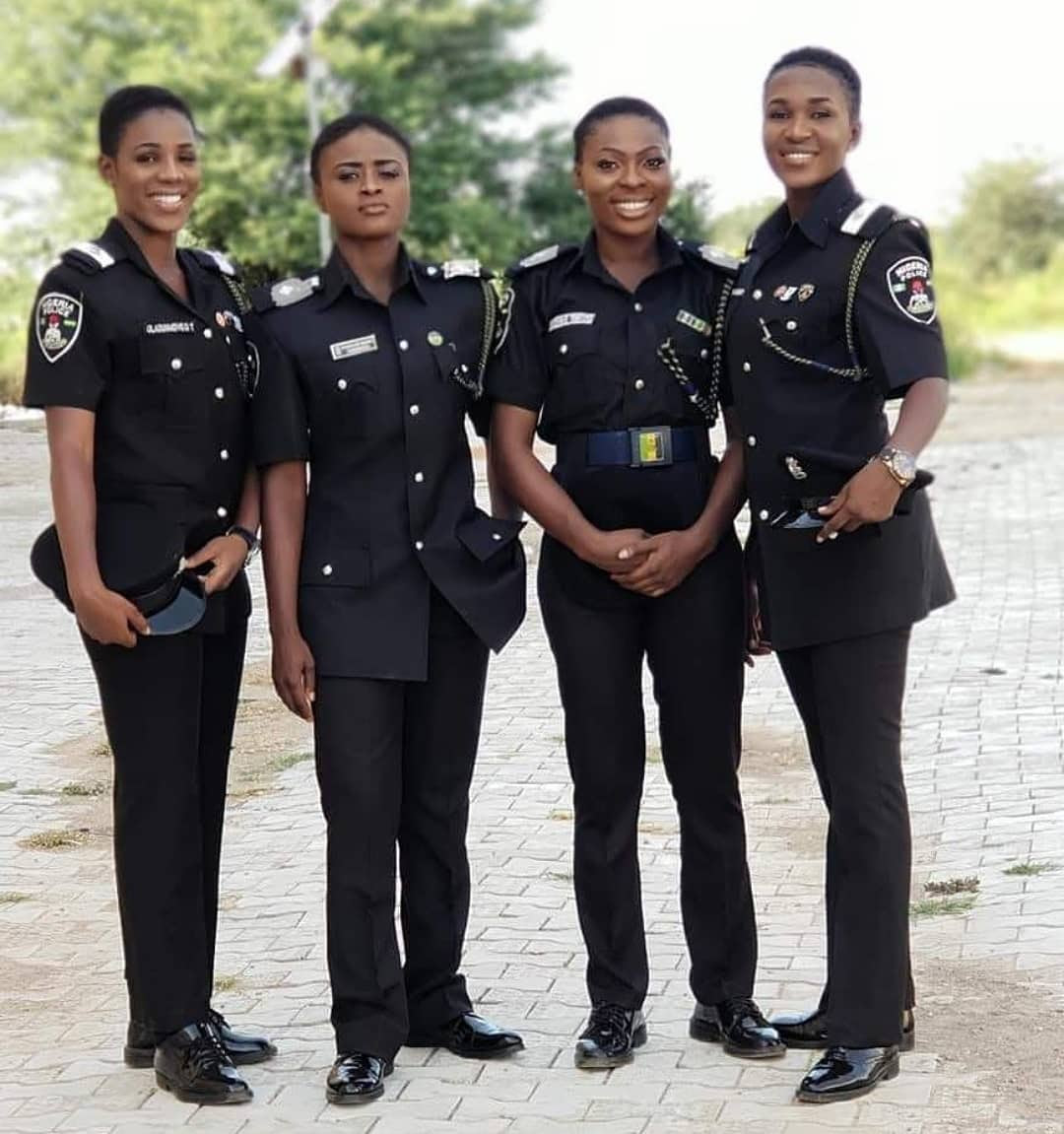 Check Out These Cool Looking Nigerian Female Police Officers (Photo)