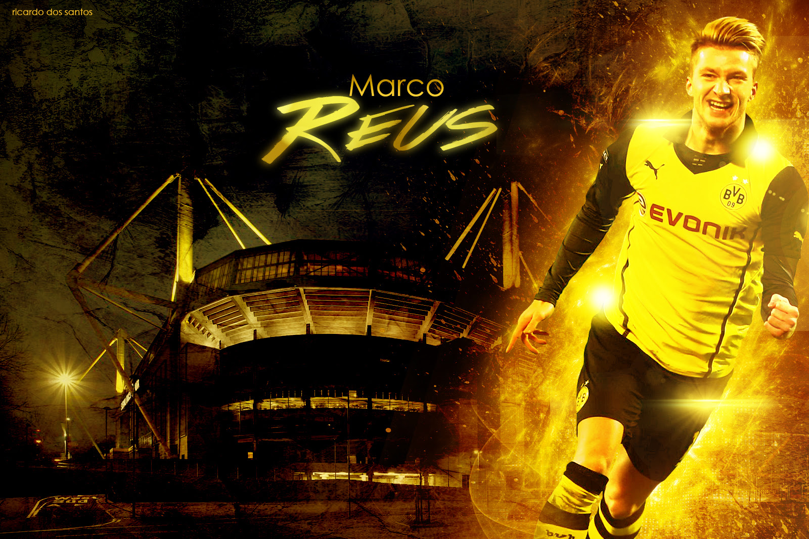 Marco Reus Borussia Dortmund 2014 Wallpaper by RakaGFX on ...