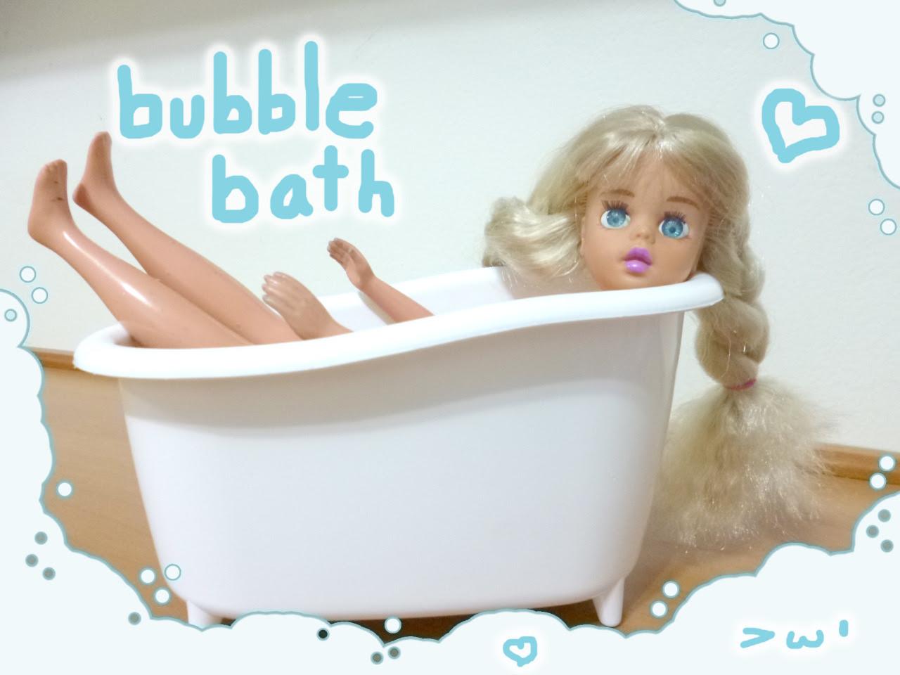 Susi tomando banho!