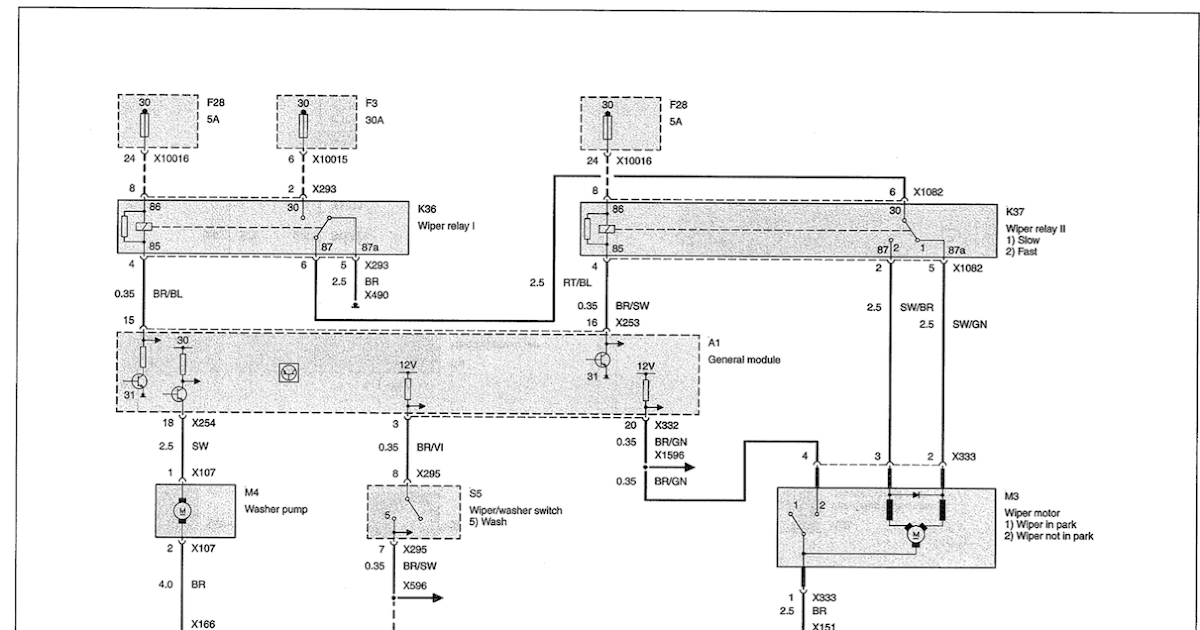 Bmw E46 Wiper Wiring DiagramWiring Diagram
