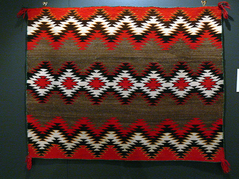 File:Philbrook - Navajo Satteldecke.jpg