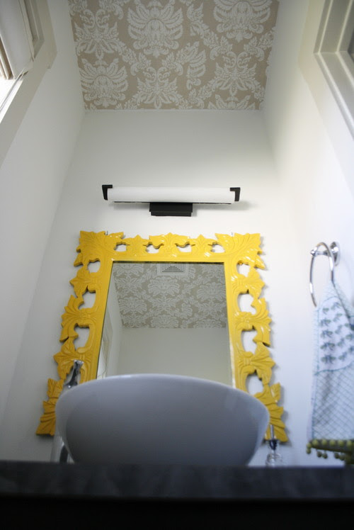 Simply Grove eclectic bathroom