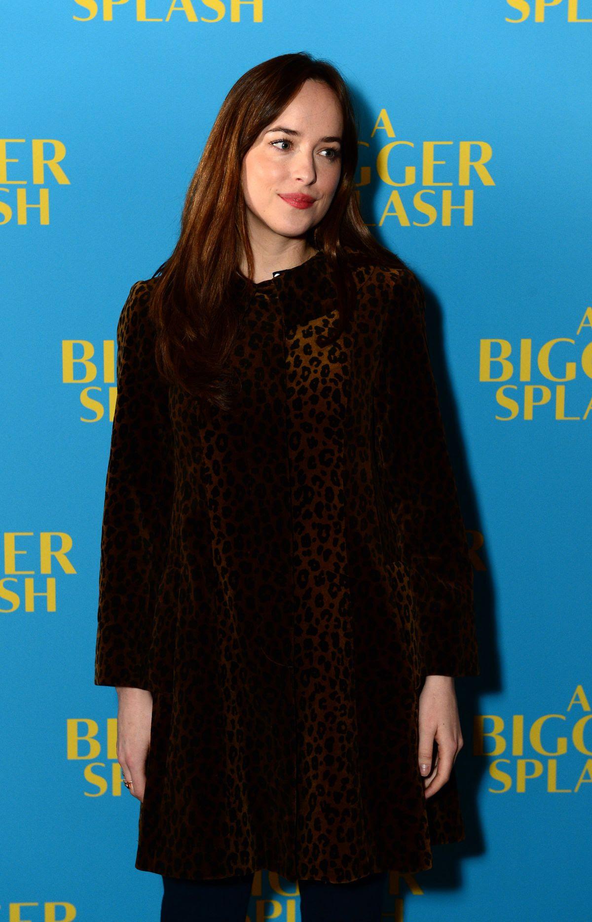 DAKOTA JOHNSON at Bigger Splash Photocall in London 02/07/2016