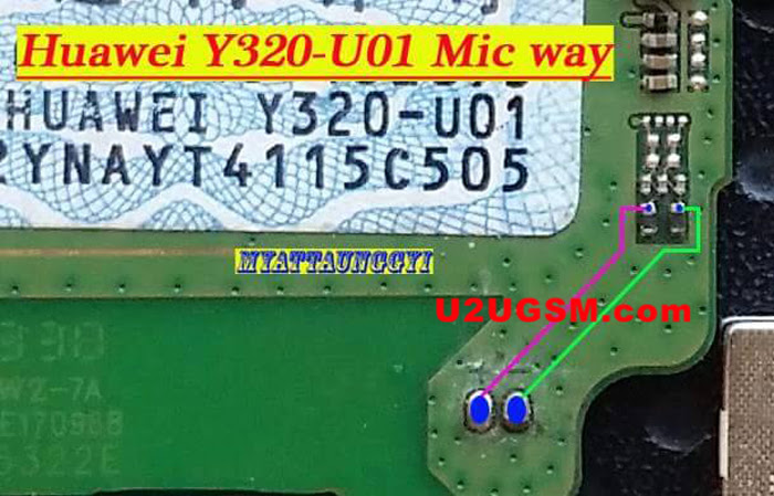 Huawei Ascend Y320 Mic Problem Jumper Solution Ways Microphone Not Working