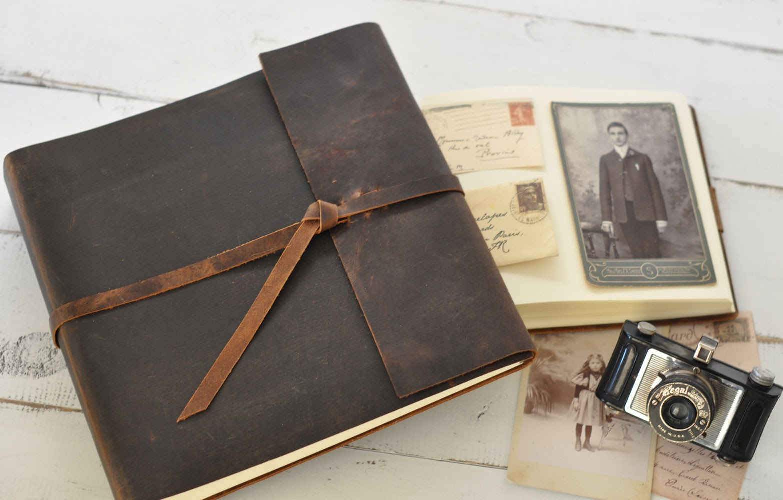 Leather Photo Albums By Blue Sky Papers