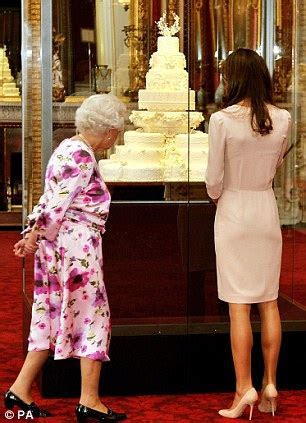 Duchess of Cambridge Kate Middleton and the Queen view her