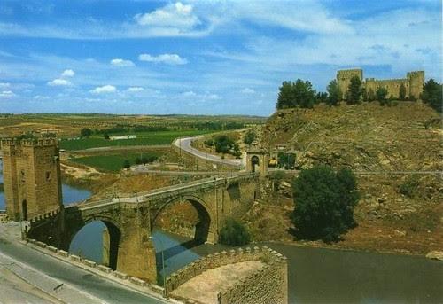 Castillo de San Servando en los años 70
