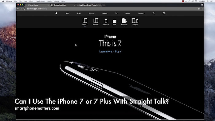 Can I Use The iPhone 7 or 7 Plus With Straight Talk ...