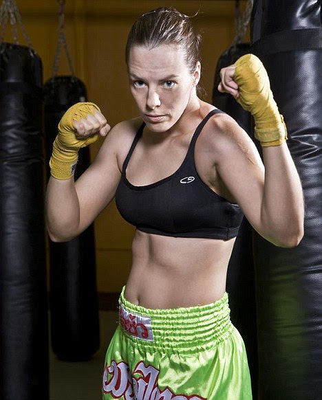 Fatal blow: Adrienne Simmons died after being felled by a punch to the head during a championship fight