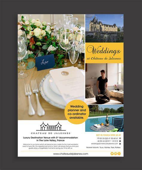 24 Upmarket Advertisement Designs   Wedding Advertisement