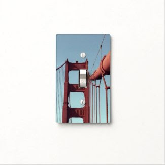 On The Golden Gate Bridge Switch Plate Covers