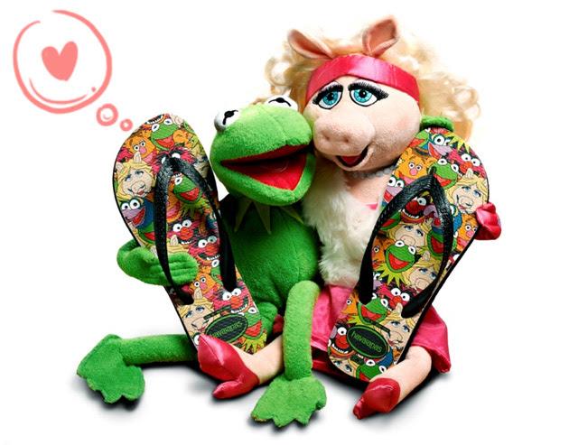 muppets Fofura do Dia: Havaianas OS MUPPETS