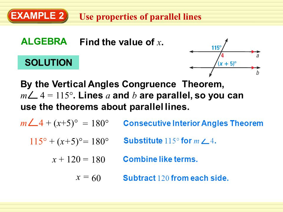 Use+properties+of+parallel+lines