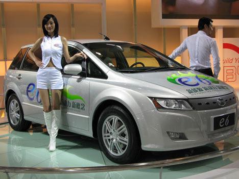 E6 - Chineses elétricos, híbridos e convencionais invadem Detroit