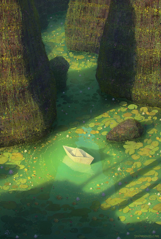 Surreal Worlds Digitally Painted by Gediminas Pranckevicius painting digital