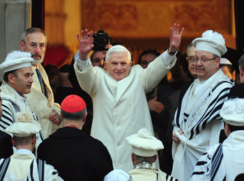 benedict XVI chief rabbi rome