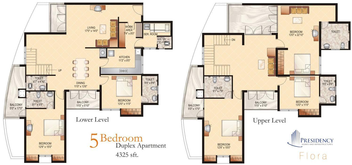 3 Bedroom Duplex House Design Plans