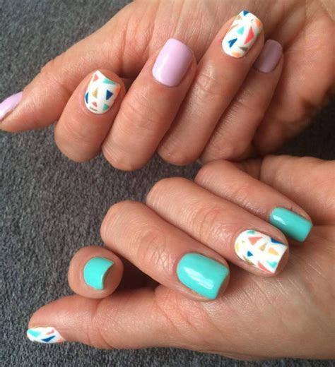 21  Triangle Nail Art Designs, Ideas   Design Trends