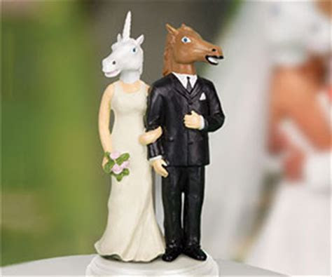 Creepy Wedding Cake Toppers