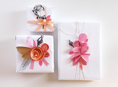 paper-flower-package-decoration
