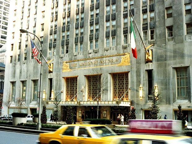 Hotel Waldorf Astoria, em Nova York (Foto: James G. Howes)