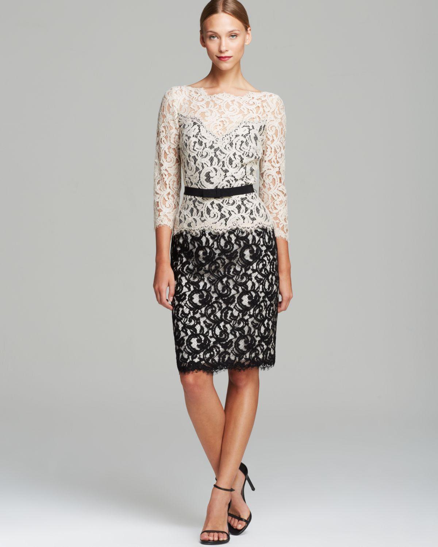 Three quarter sleeve grey lace dress costumes