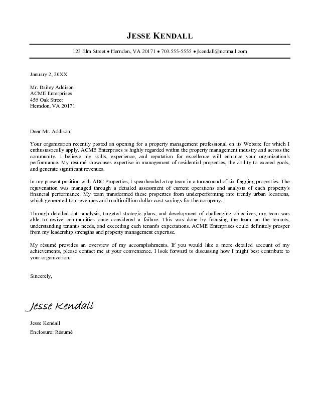 Resume Cover Letter Examples  Fotolip.com Rich image and wallpaper