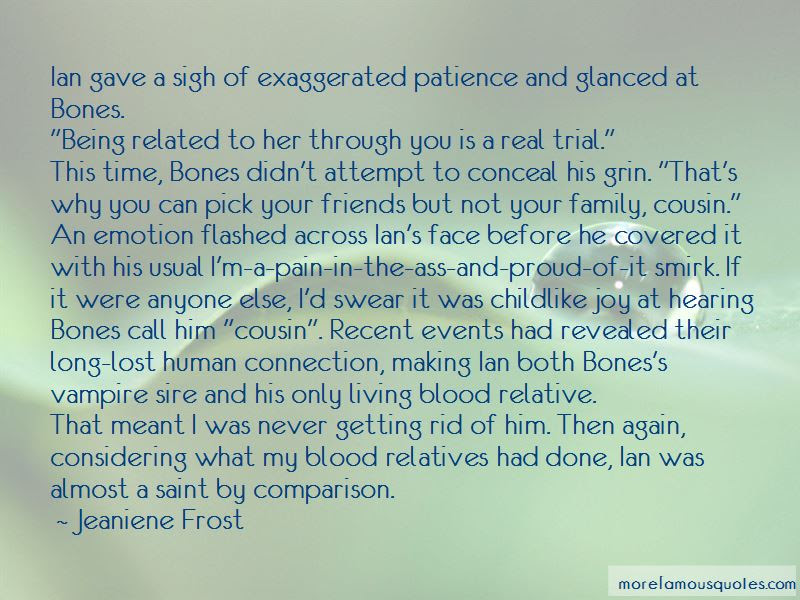 Quotes About Family Not Being Blood Related Top 1 Family Not Being