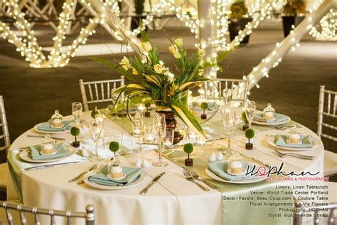 2013 Weddings   Affordable Green Inspiration   LinenTablecloth