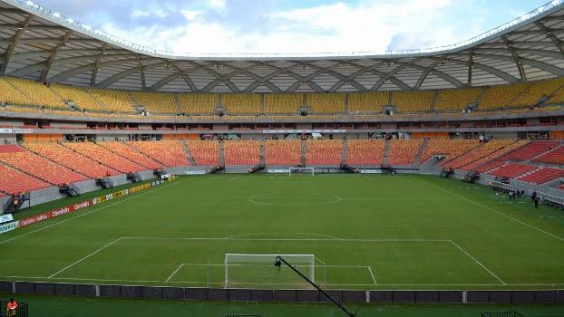 Arena da Amazônia, em Manaus, será o palco do clássico carioca