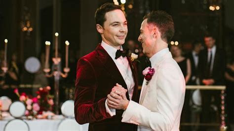 Jim Parsons Shares New Pics From Wedding to Todd Spiewak