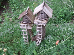 More Fairy huts