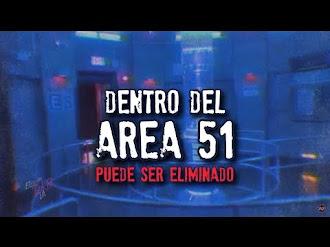 Grabaron el interior del AREA 51