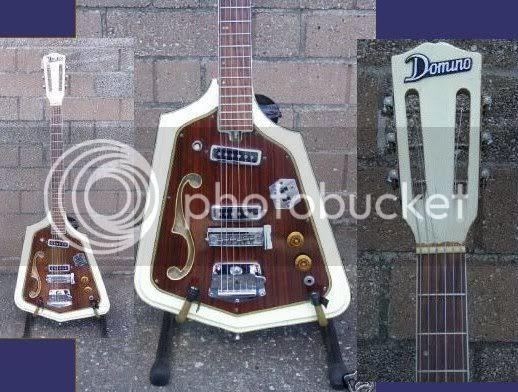 Domino guitar