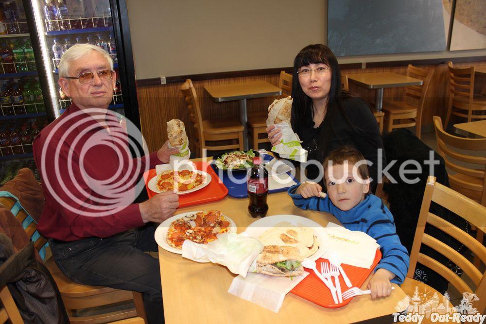 Extreme Pita Family Dinner