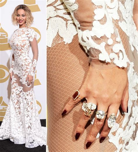 Beyonce, Rita Ora in Grammys Jewelry   Hollywood Reporter